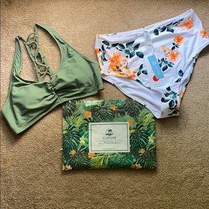 CupShe Swimsuit - size Medium